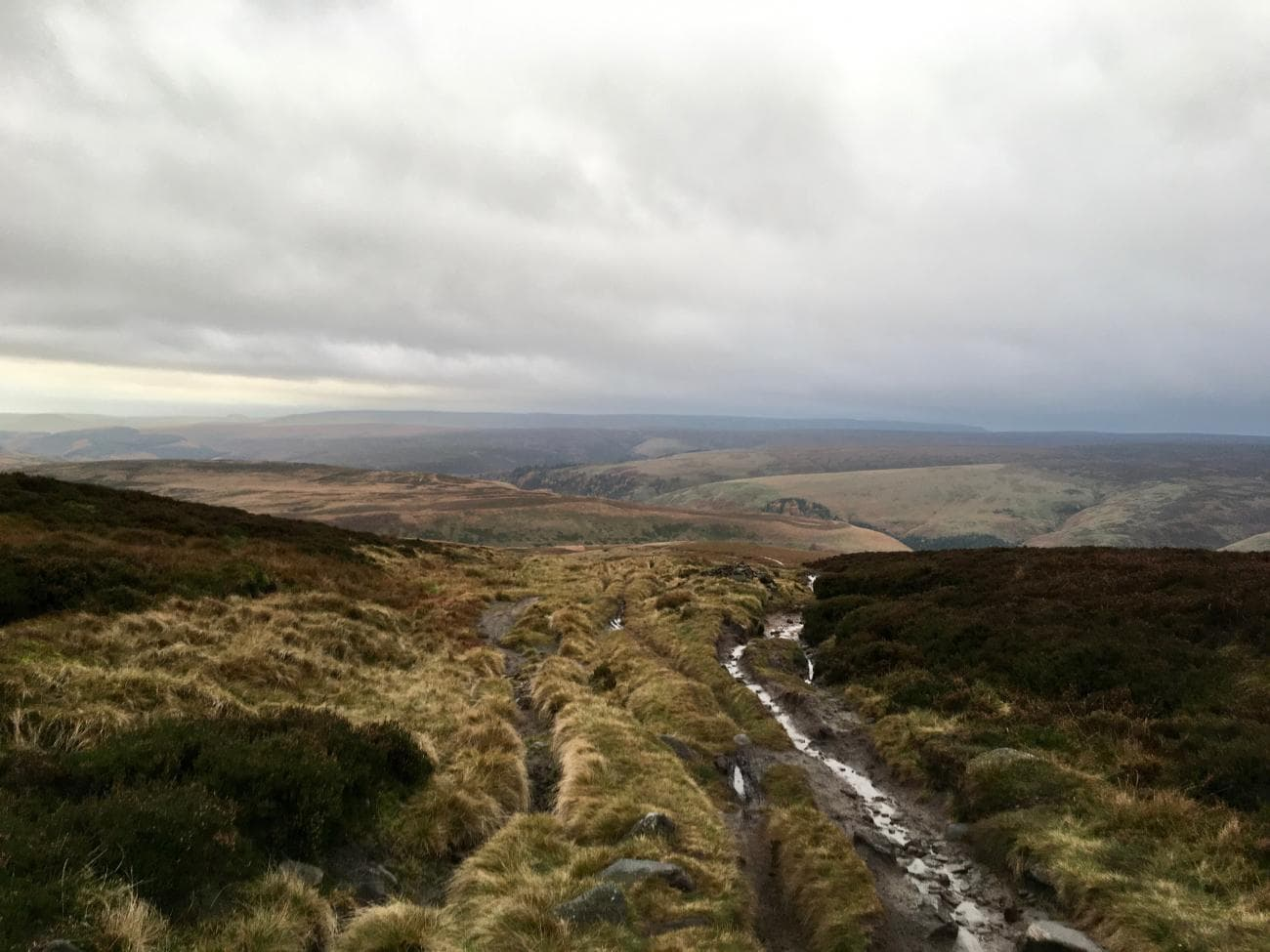 Trails in the Peak District
